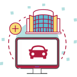 travel portal car icon